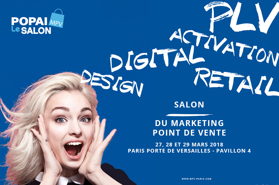 WIZZ factory est au salon Marketing Point de Vente Paris - WIZZ factory, solutions digitales d'activation commerciale