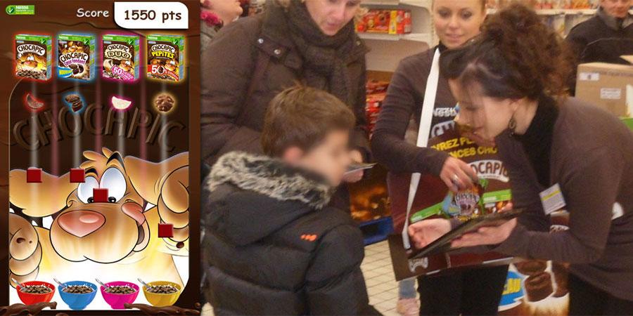 Jeu-Chocapic-sur-tablette-WIZZ-factory,-interactions-digitales-événementielles-une