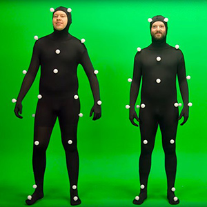 Motion Capture - WIZZ factory, solutions digitales interactives