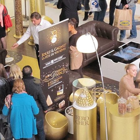Immersion virtuelle avec Ferrero - WIZZ factory, solutions digitales interactives
